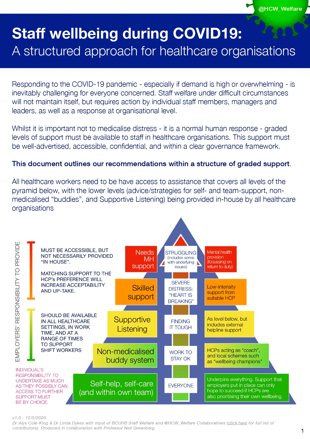 structured approach for healthcare organisations 1